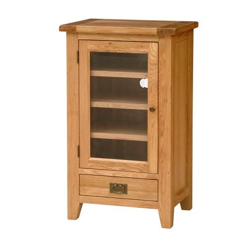 Montague Oak Hi Fi Cabinet