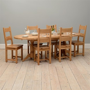 Gorgeous Real Wood Dining Sets | Oak, Pine & Painted Ranges