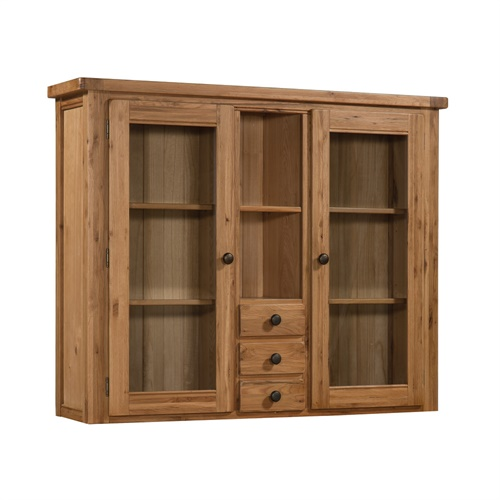 Buxton Oak Glazed 2 Door Sideboard Top B716 With Free Delivery The Cotswo