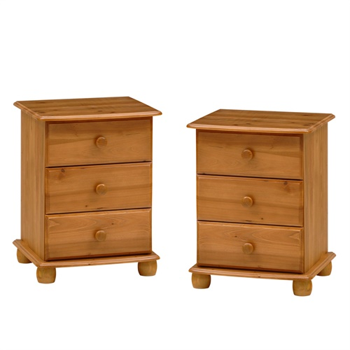 Durham Pine Set Of 2 Bedsides A118 With Free Delivery