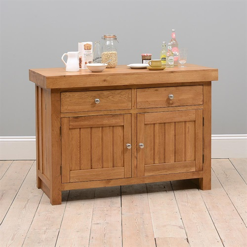 Kitchen Island Furniture Product: Cotswold Kitchen Large Kitchen Island/Breakfast Bar (C116