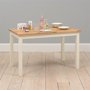 Portobello Painted 130cm Fixed Top Dining Table