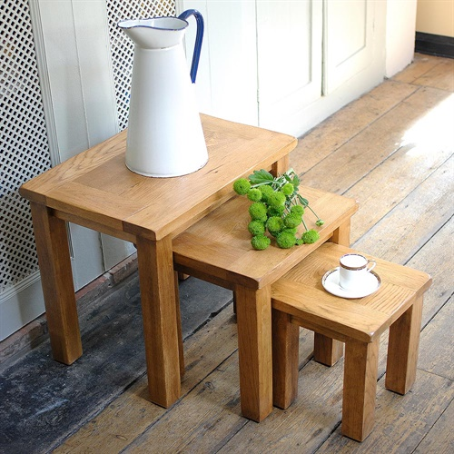 Furniture Store Oakland: Oakland Nest Of 3 Tables (E223) With Free Delivery
