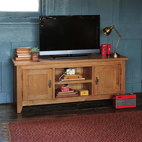 """Oakland Widescreen TV Unit With 2 Doors- Up To 65"""" (E225"""