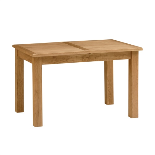 Dining Room Furniture Essentials: Essentials Oak 4ft-5ft6 X 2ft6 Extending Dining Table