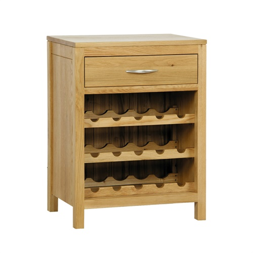 Ealing oak wine rack cabinet j155 with free delivery for Other uses for wine racks in kitchen