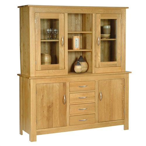 ealing oak large kitchen dresser j162 with free delivery