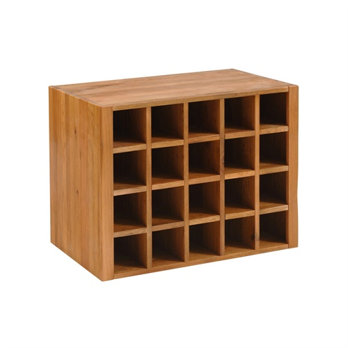 Kitchen Cabinet Wine Rack Insert: Cottage Oak Wine Rack Insert For Console Table (J274) With
