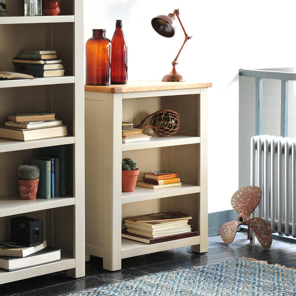 Grey Small Bookcase