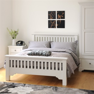King Size Beds Oak Solid Wood And White King Size Beds