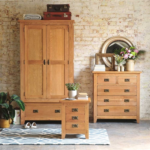 wardrobe bedroom set is part of the oakland furniture range it s a
