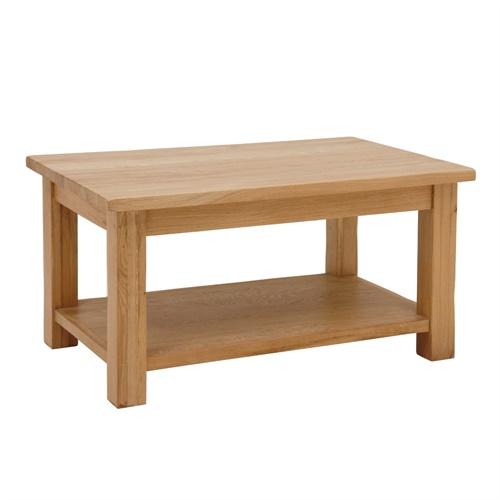 Newark Oak Coffee Table Light Oak Fully Assembled Ebay