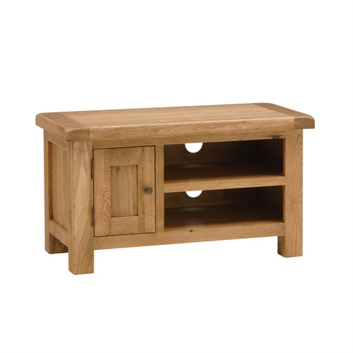Lyon Oak Tv Stand With 1 Door Up To 40 L416 With Free