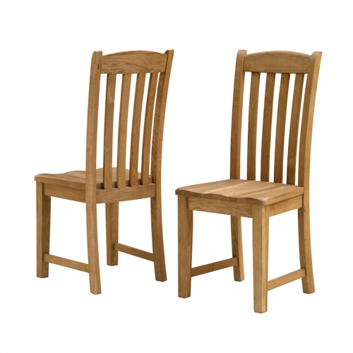 Lyon Oak Dining Chair L430 With Free Delivery The Cotswold Company