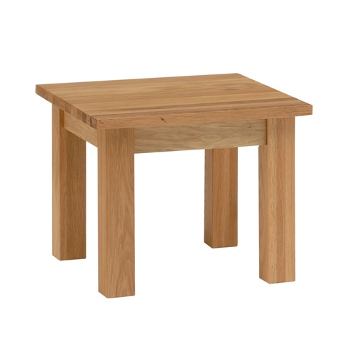Newark solid oak small end table l with free delivery