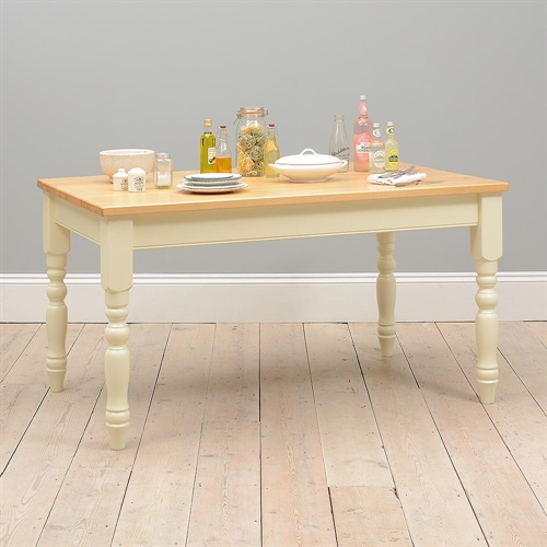 Kitchen Table Alternatives: Wiltshire Painted 152cm Pine Kitchen Table (919.005) With