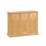 Read more about Dorchester pine 4ft sideboard
