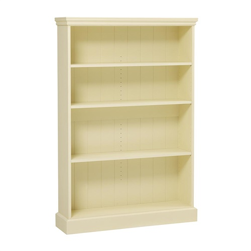 Bourton Painted Extra Wide Bookcase 5ft M450 With Free Delivery The Cotswold Company