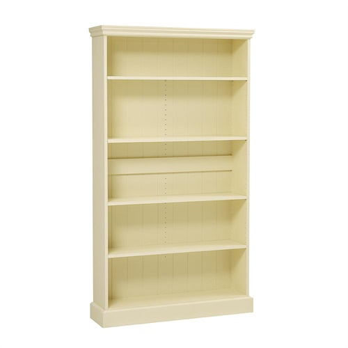 bourton painted extra wide bookcase 6ft m452 with free delivery the cotswold company. Black Bedroom Furniture Sets. Home Design Ideas