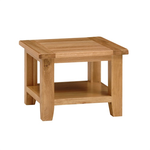 montague oak square coffee table m563 with free delivery the cotswold company nb009. Black Bedroom Furniture Sets. Home Design Ideas