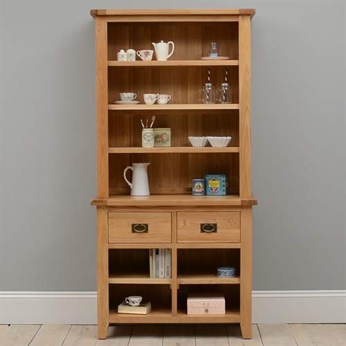 montague oak open dresser m590 with free delivery the
