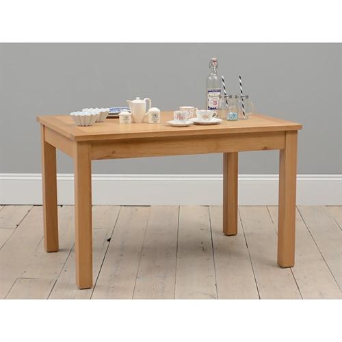 Richmond Oak 120cm 180cm Extending Dining Table With