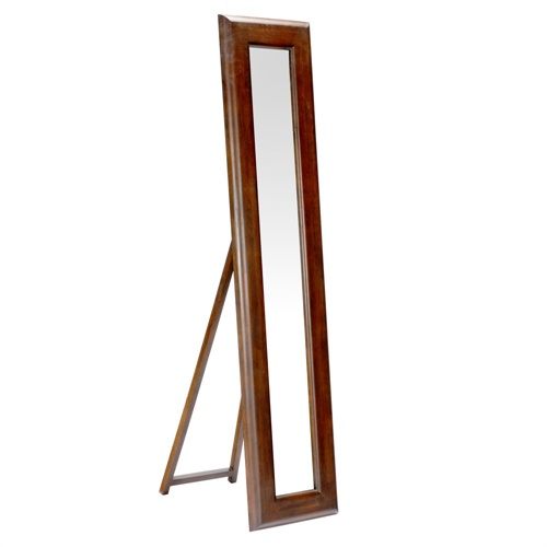 Floor easel for mirror