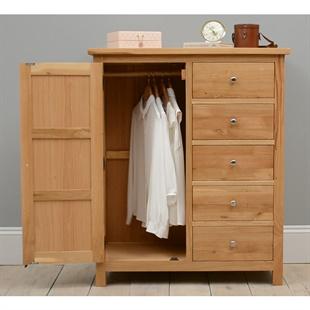 Sterling Oak Combination Wardrobe