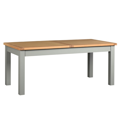Florence grey 180 270cm extending dining table two tone for 2 tone dining room tables