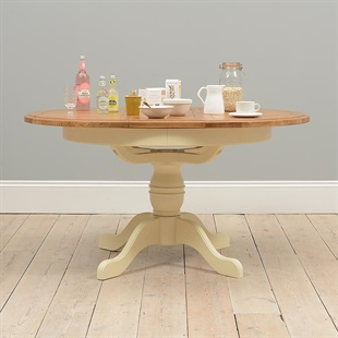 Westbury Painted Ext. 110-150cm Round Dining Table