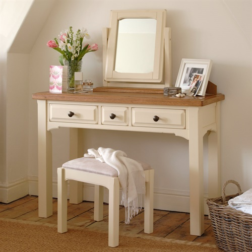 Westbury Painted Dressing Table Set (S132) With Free