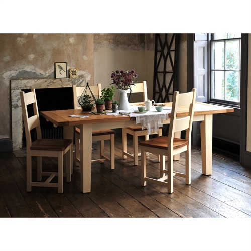 Cheltenham cream 180cm 230cm extending dining table v873 with free delivery the cotswold - Office supplies cheltenham ...