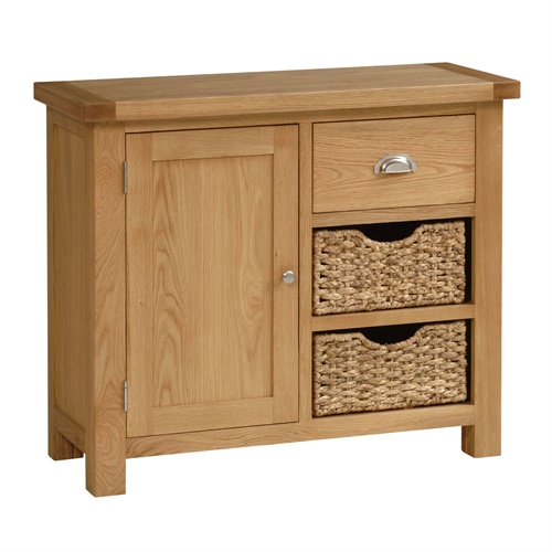 Galway Oak Small Sideboard with Baskets X103 with Free  : X103jbreuk7m4 from cotswoldco.com size 500 x 500 jpeg 60kB